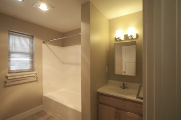 Bathroom in Two Bedroom apartment.