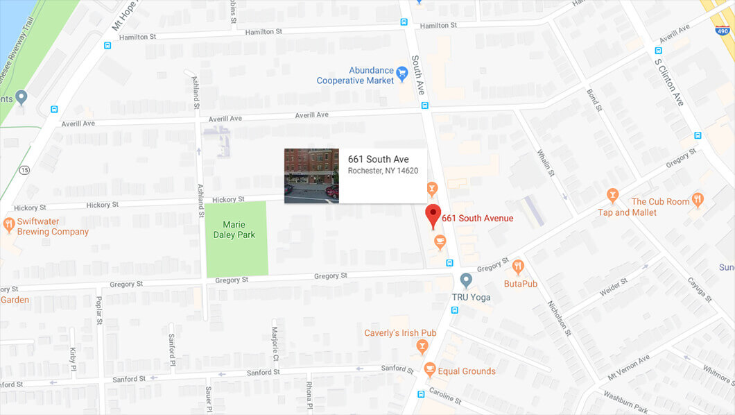 Google Map 661 South Avenue