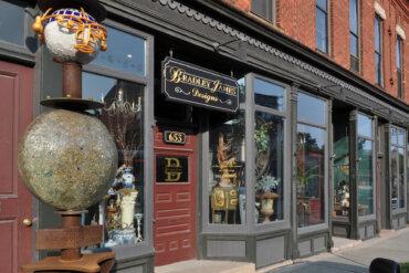 Bradley James storefront