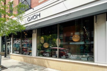 Exterior of Axom Home & Gallery