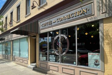 Exterior of Coffee Connection