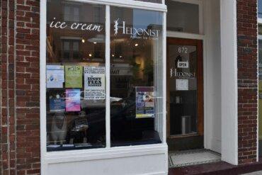 Exterior of Hedonist Ice Cream