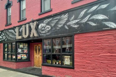 Exterior of LUX lounge