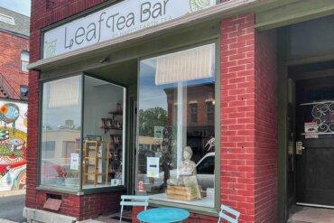 Exterior of Happy Earth Tea Company