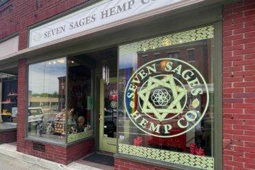 Exterior of Seven Sages Hemp Company