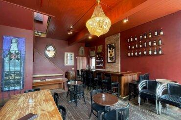 Interior of Solara Wine Bar