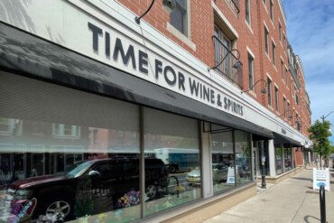 Exterior of Time for Wine and Spirits