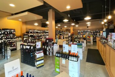 Interior of Time for Wine and Spirits
